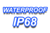 IP68 - druckwasserdicht
