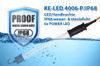 IP68 dust- and waterproof