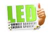 LED Technik mit zusätzlicher Fokus Linse