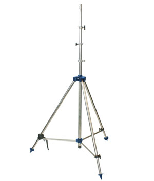 Tripod, stainless steel